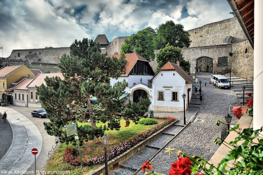 Eger Castle and Street